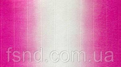 Креп бумага #600/1 (2.5 м, 180 г) водоотталкивающая двухцветная