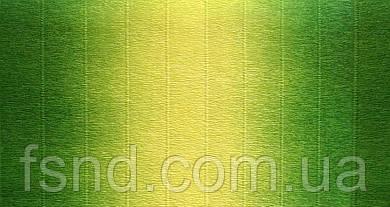 Креп бумага #600/5 (2.5 м, 180 г) водоотталкивающая двухцветная