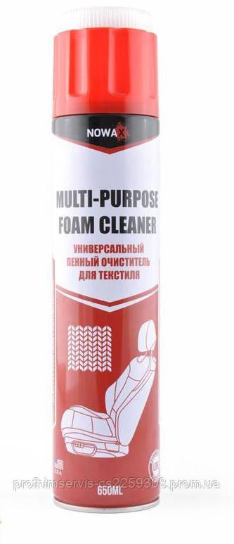 Универсальный пенный очиститель для текстиля NOWAX