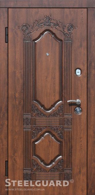 Вхідні двері Стілгард Steelguard серія Resiste Sangria