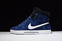 Кроссовки Nike Blazer найк блейзер зимние мужские женские 429988 400