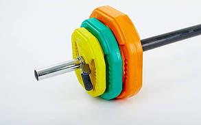 Штанга наборная для фитнеса York FI-4247 20 кг, фото 2