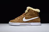 Кроссовки Nike Blazer найк блейзер зимние мужские женские 538282 200