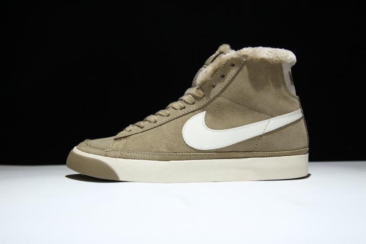 48f29e04 Кроссовки Nike Blazer найк блейзер зимние мужские женские 371761 022 реплика