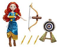 Модная кукла Disney Princess Принцесса Мерида и ее хобби Hasbro