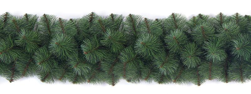 Новогодняя гирлянда Сосновая 250см Микс 2.5м Рождественская