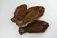 Селедочница Золотая рыбка средняя, 22 см