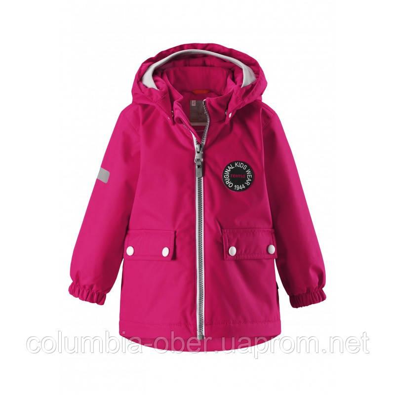 Демисезонная куртка для девочки ReimaTec 511250-3560. Размеры 80 - 86.