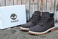 Зимние мужские ботинки Timberland Classic (Тимберленд) с мехом