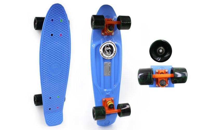 Скейтборд Penny Board SWIRL FISH SK-404-8