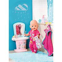 Интерактивный умывальник для куклы BABY BORN - ВЕСЕЛОЕ УМЫВАНИЕ (свет, звук) 824078
