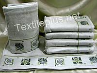 Полотенца для лица/бани 50*90 - 6 шт.,Ozdilek 100% хлопок  велюр махра -Турция