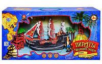 """Набор для игры в пиратов M 0513 U/R. Детский игровой набор """"Пираты Черного моря""""."""