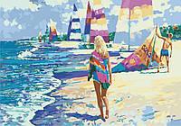 Картина по номерам KHO2718 На Мальдивах Худ Говард Беренс (35 х 50 см) Идейка