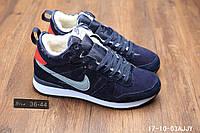 Кроссовки Nike зимние найк мужские женские 10-03A реплика