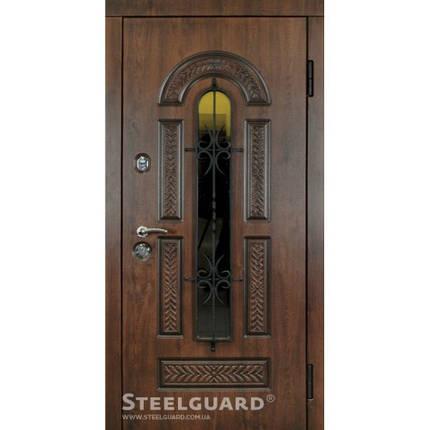 Вхідні двері Стілгард Steelguard серія Resiste Vicont Glass, фото 2