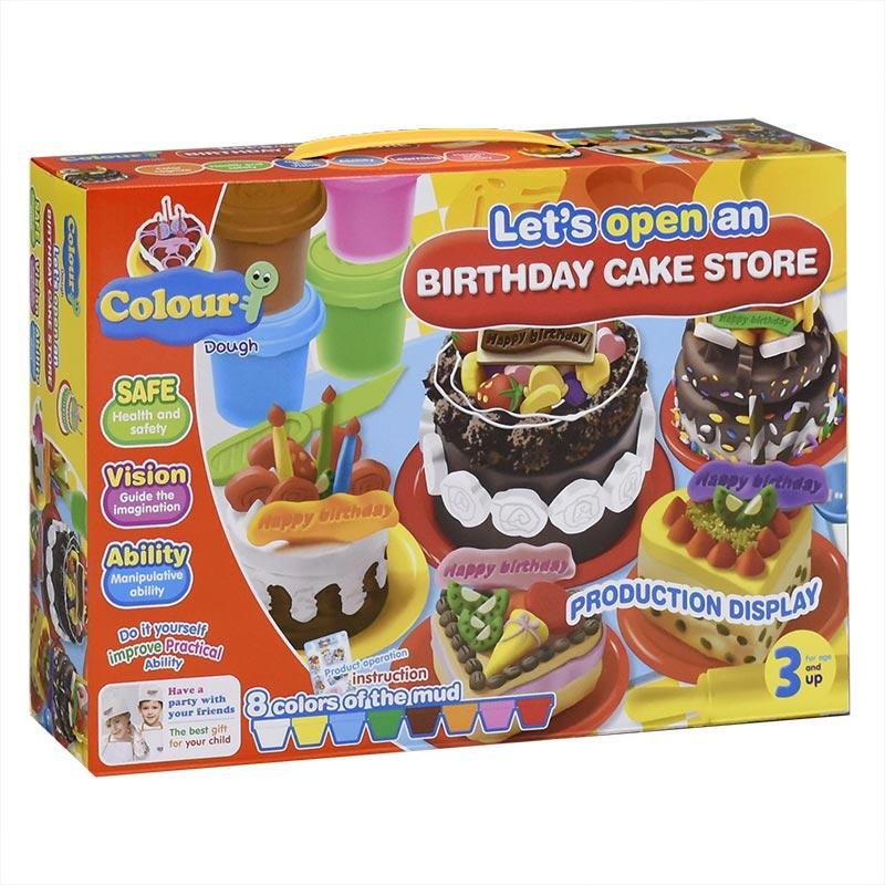"""Набор для лепки   8210 """"Торт"""" 8кол.в кор."""