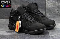 Мужские ботинки New Balance - Fresh Foam Paradox - Original black, утеплитель - мех, прорезинены