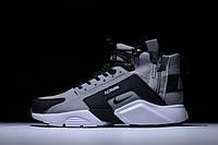 Кроссовки ACRONYM x Nike air Huarache CITY MID LEA 856787-100 зимние демисезон реплика