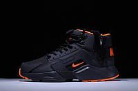 Кроссовки ACRONYM x Nike air Huarache CITY MID LEA 856787-107 зимние демисезон реплика