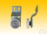 Дверная опора, коленчатая, рулон 85 x 40 x 25/4 мм ø40 мм, общая высота 90 мм, Schindler, запчасти и комплектующие к лифтам оптом в Украине