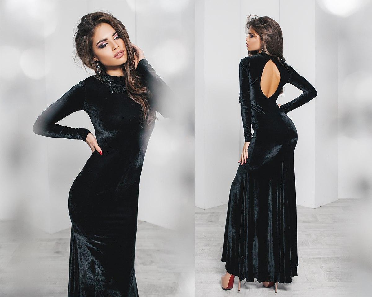 0cb0bb18baa Вечернее Платье с Вырезом на Спине — в Категории