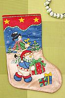 Носок рождественский для подарков