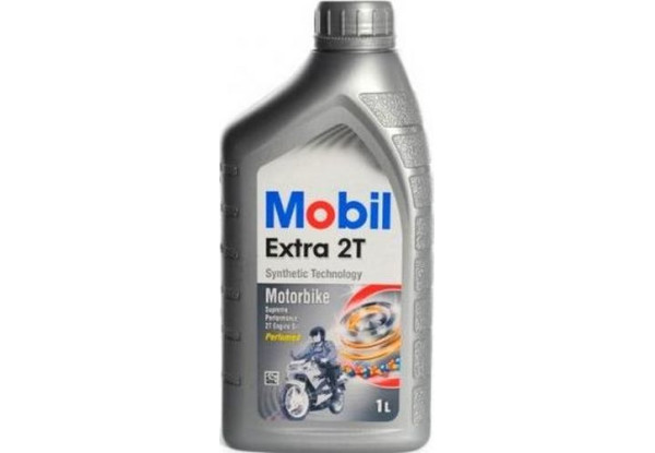 Моторное масло Mobil Extra 2T 1л