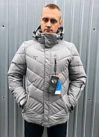 Мужская стёганная горнолыжная куртка Snow Headquarter