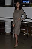Женское трикотажное платье с карманами Турция, фото 1