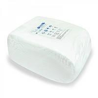 Полотенце одноразовое нарезное 45х90 (50 шт) белые гладкие