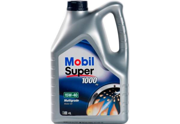 Моторное масло Mobil Super 1000 X1 15W-40 4л