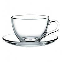 Чашка с блюдцем - 220 мл (PASABACHE)