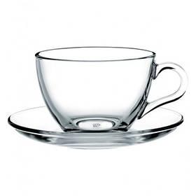 Чашка с блюдцем - 220 мл (Pasabance)