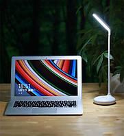 Аккумуляторная настольная Led лампа Remax Dawn RT-E190 white подставка