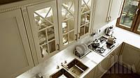 Кухонный фасад рамочный крашенный СММ RCN