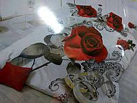 Постельное белье 3D .Роза черная