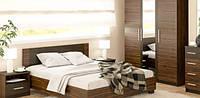 Спальня Мебель-Сервис Вероника дсп венге-макасара