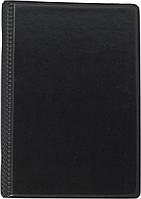 Визитница виниловая на кольцах (120 визиток, черный) bm.3541-01