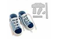 Вырубка пластик кроссовок