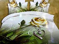 Постельное белье 3D . Роза