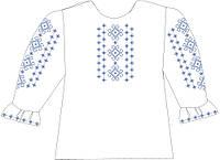 СВДП-11. Заготовка для вишивки бісером Дитяча блузочка домоткана