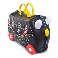 Детский чемодан для путешествий Pedro the Pirate Ship (Пират Педро) TRU-0312 Trunki