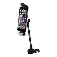 Автодержатель с функцией зарядки на сгибаемой ножке, Belkin Car Navigation + Charge Mount для iPhone (F8J132btBLK)