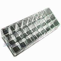 Акриловый органайзер подставка для  расходных маникюрных материалов