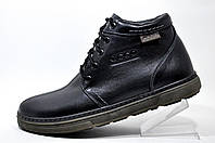 Ботинки зимние Ecco мужские на меху, Black