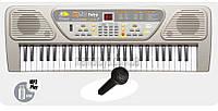 Пианино Синтезатор детский. MQ-806 USB, 26х11,5х74 см. Микрофон