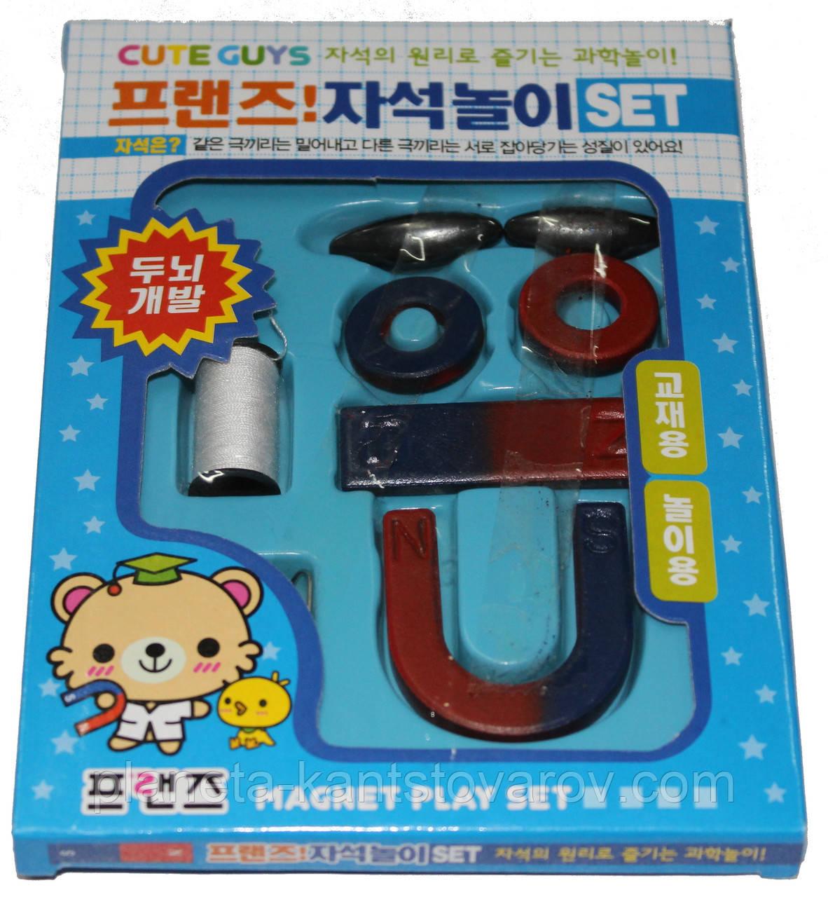 Набор детских магнитов для исследований