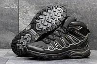 Зимние ботинки Salomon Speedcross  -Нубук,подошва резина,мех искусственный ,   размеры:41-45
