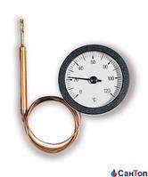 Термометр WATTS TC 50/100 (52 мм, 0-120 °С) дистанционный с капиллярной трубкой 1000 мм